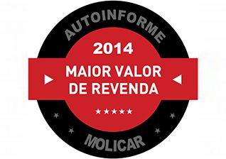 Prêmio AutoInforme – Maior Valor de Revenda 2014