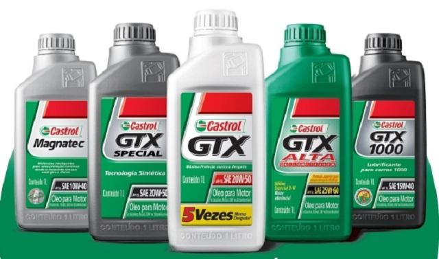 Castrol indica o óleo ideal para cada carro