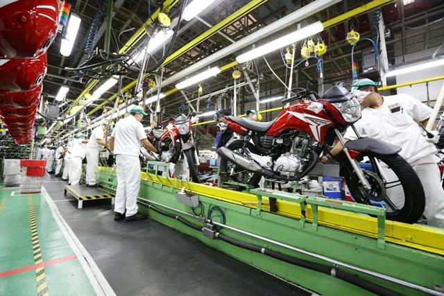 Honda_motos_Linha-produção