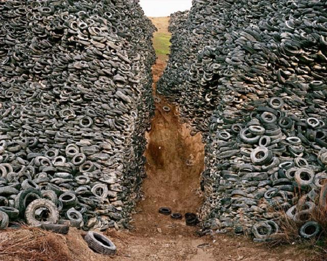Só neste ano, 114,5 mil toneladas de pneus viraram pó