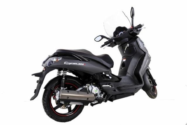 Dafra muda o scooter Citycom 300i