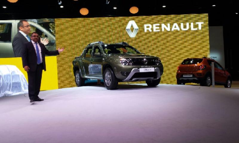 Renault lança picape Oroch em Buenos Aires