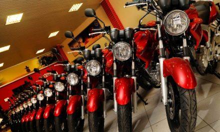 Mais um ano fraco em venda de motos