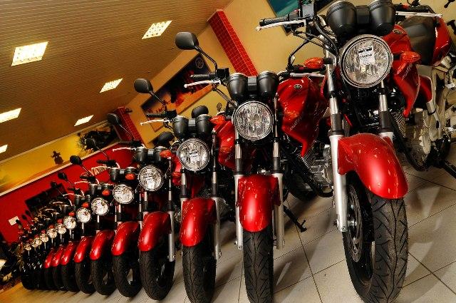 Vendas diárias de motos são as mais baixas desde 2005