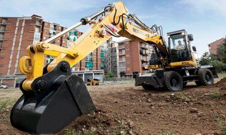 Escavadeira New Holland tem mais mobilidade