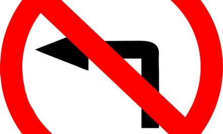 Nova York restringe curva à esquerda