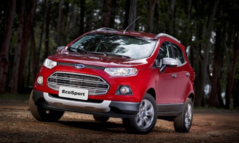 Ecosport 1.6 ganha câmbio automático