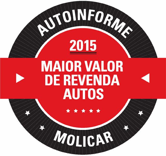 Prêmio homenageia os carros com Maior Valor de Revenda
