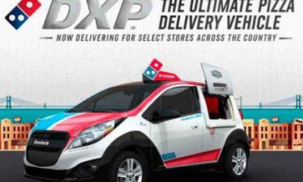 Este é o SPV, o carro feito para entregar pizza
