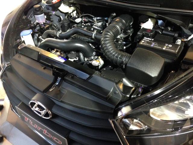Motor turbo apimenta o HB20