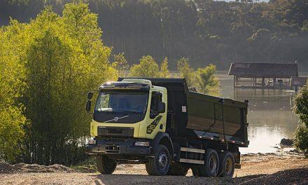 Volvo VM, o fora de estrada de 32 toneladas