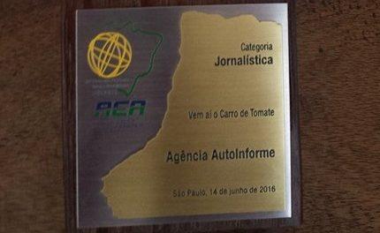 """""""Carro de tomate"""" dá prêmio à Autoinforme"""