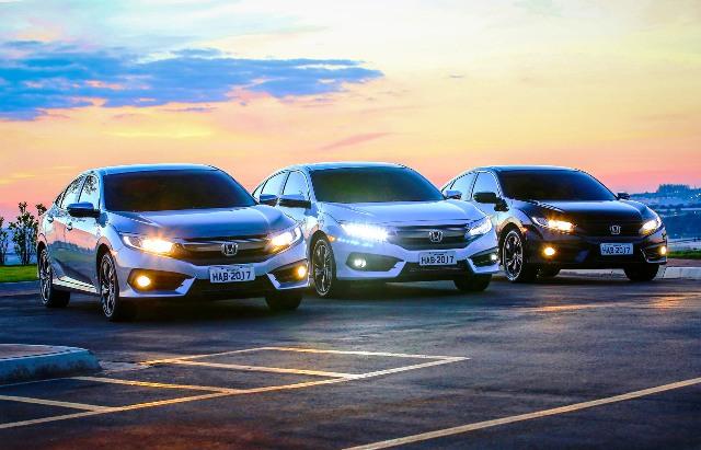 Civic 2017 chega mais potente e equipado