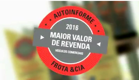 Prêmio Maior Valor de Revenda 2016 – Veículos Comerciais