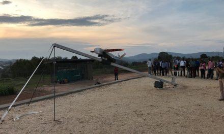 Drone leva sangue para salvar vidas em Ruanda