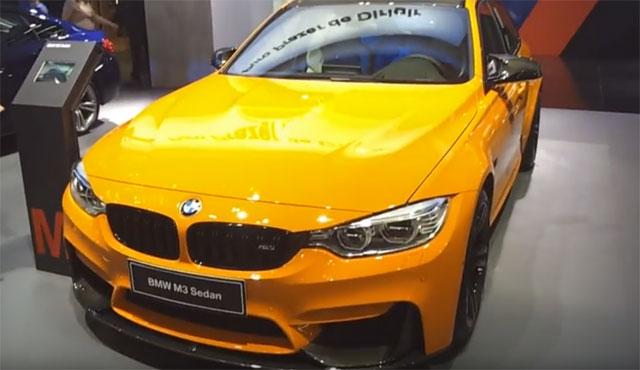 Salão do Automóvel São Paulo 2016 – BMW