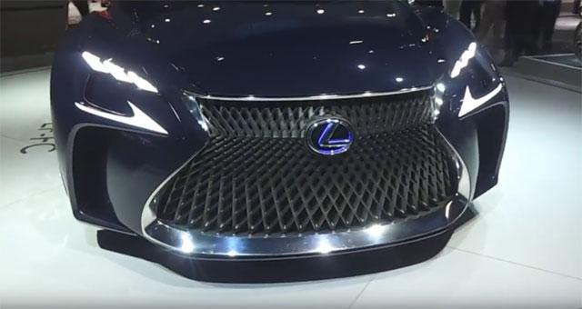 Salão do Automóvel São Paulo 2016 – Lexus