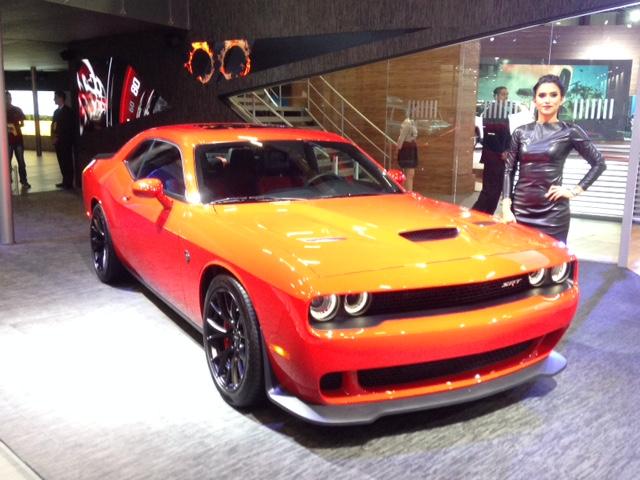 Salão do Automóvel São Paulo 2016 – Dodge