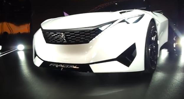 Peugeot Fractal – Salão Internacional do Automóvel 2016