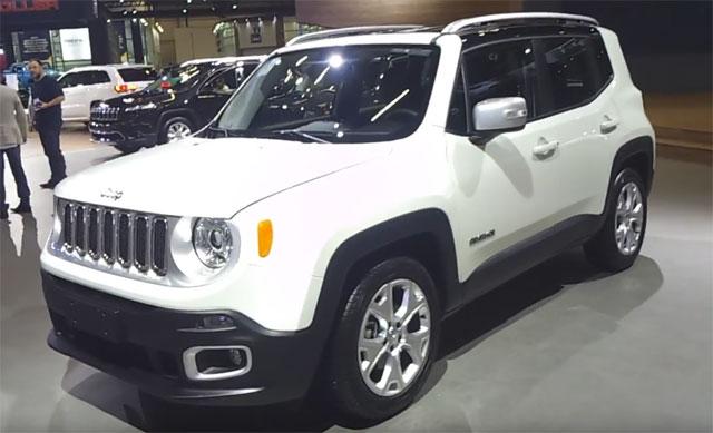 Salão do Automóvel São Paulo 2016 –  Jeep Renegade 2017