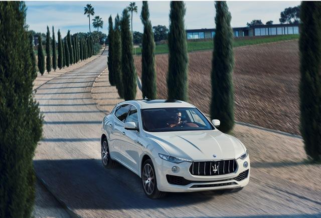O primeiro utilitário esportivo da Maserati