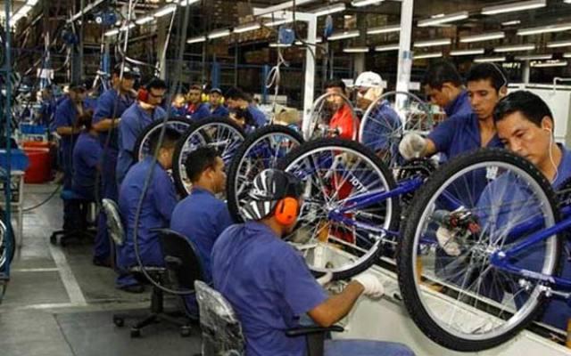 bicicletas produção