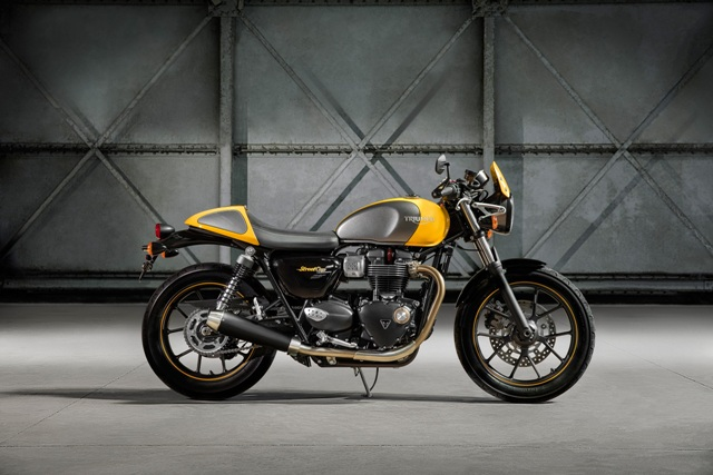 Street Cup, a nova moto clássica da Triumph