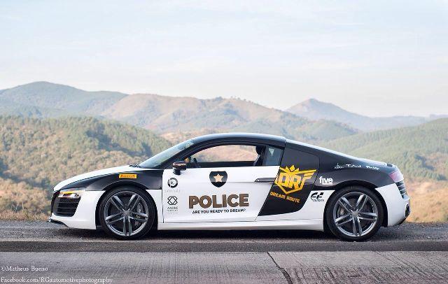 Audi R8 Polícia