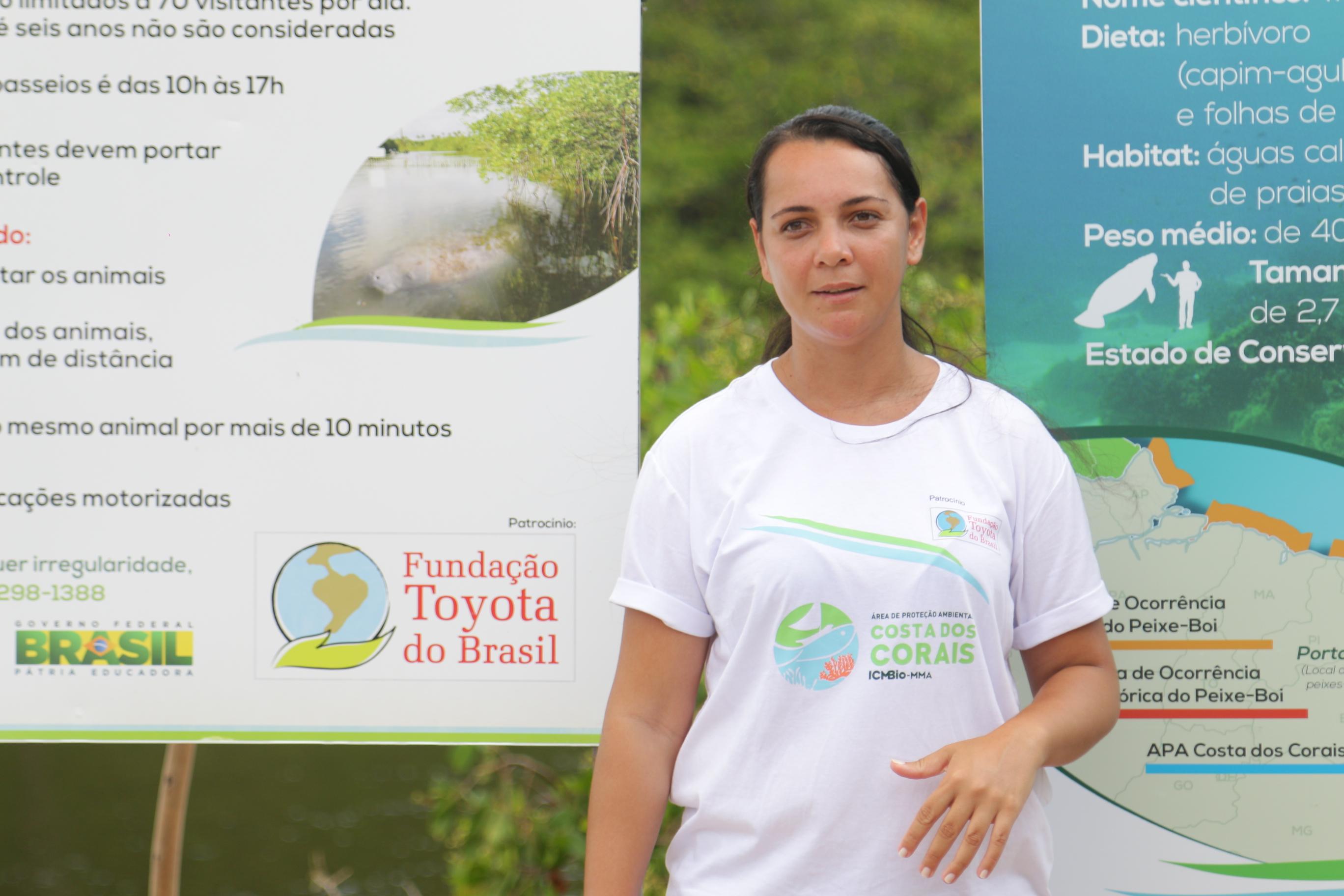 Flavia Rego, presidente da Associação Peixe-boi