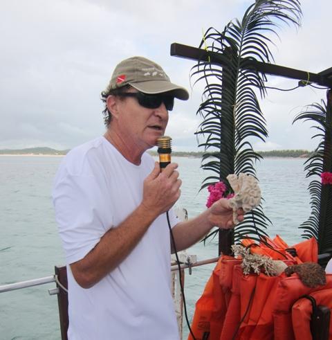 Mauro Maida, oceanógrafo e conselheiro do Instituto Recifes Costeiros