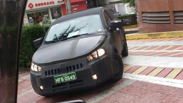 O futuro carro da Fiat, fotografado por André Lobo, do UOL