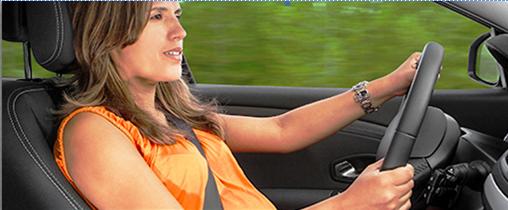 Gestante ao volante: mais atenção, mas sem restrições