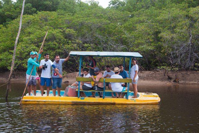 Só embarcações não motorizadas entram no mangue
