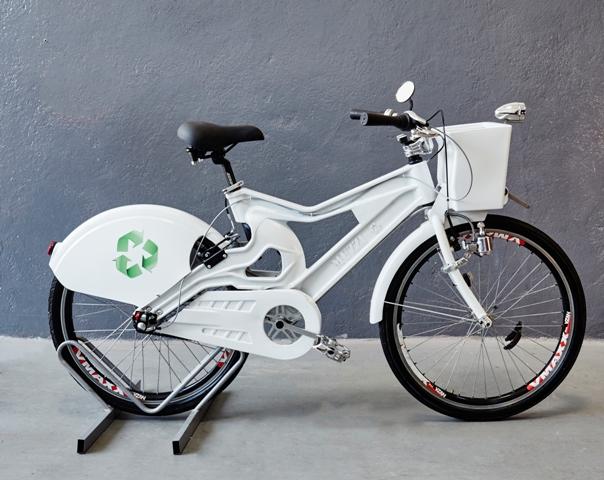 Bicicleta partilhada e sustentável