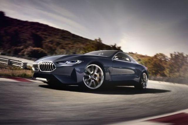 BMW apresenta o futuro do Série 8