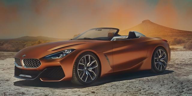 Novo conceito do BMW Z4 está chegando