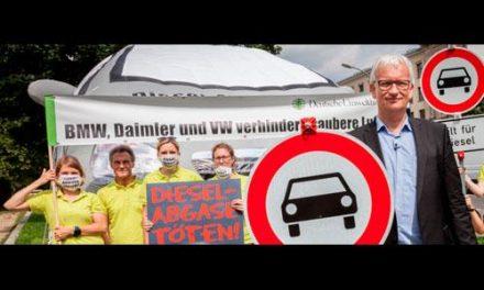 Stuttgart proíbe circulação de carros a diesel