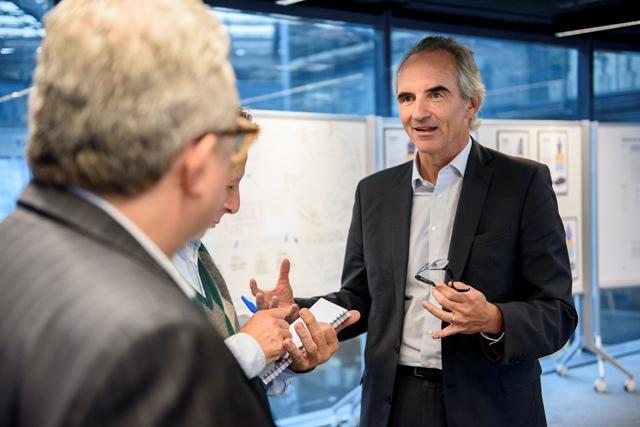 Stefan Ketter, Presidente da FCA