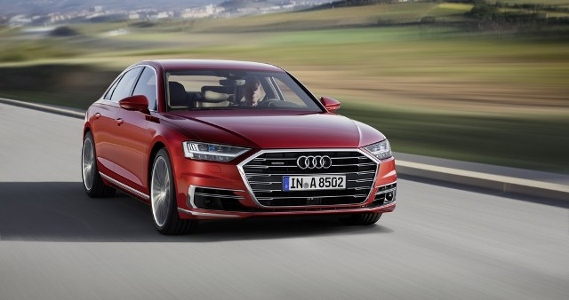 Audi A8 define rota remotamente