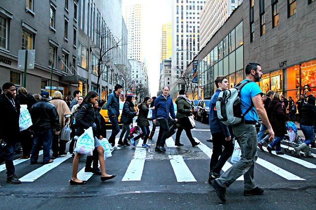 Pedestre no trânsito