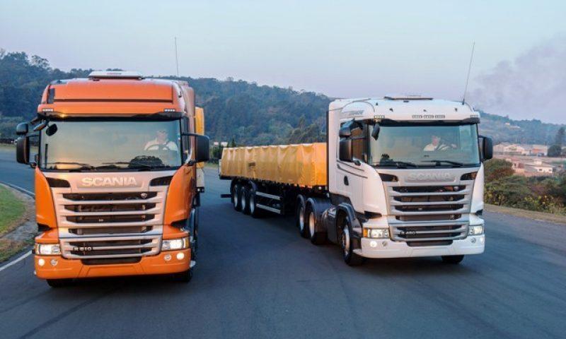 Scania cresceu 30% e quer mais 10% este ano