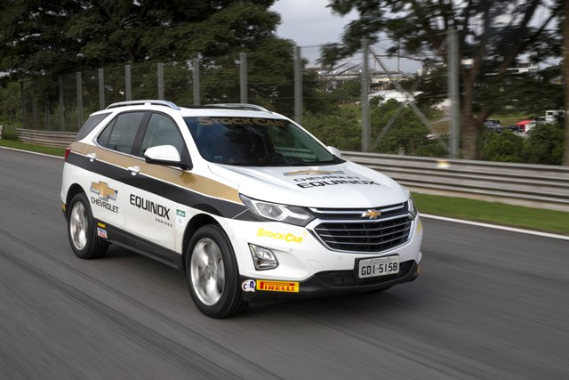 Equinox: novo carro-madrinha da Stock Car
