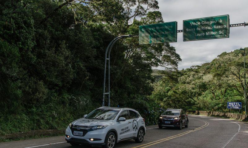As emocionantes curvas da Serra do Rio do Rastro