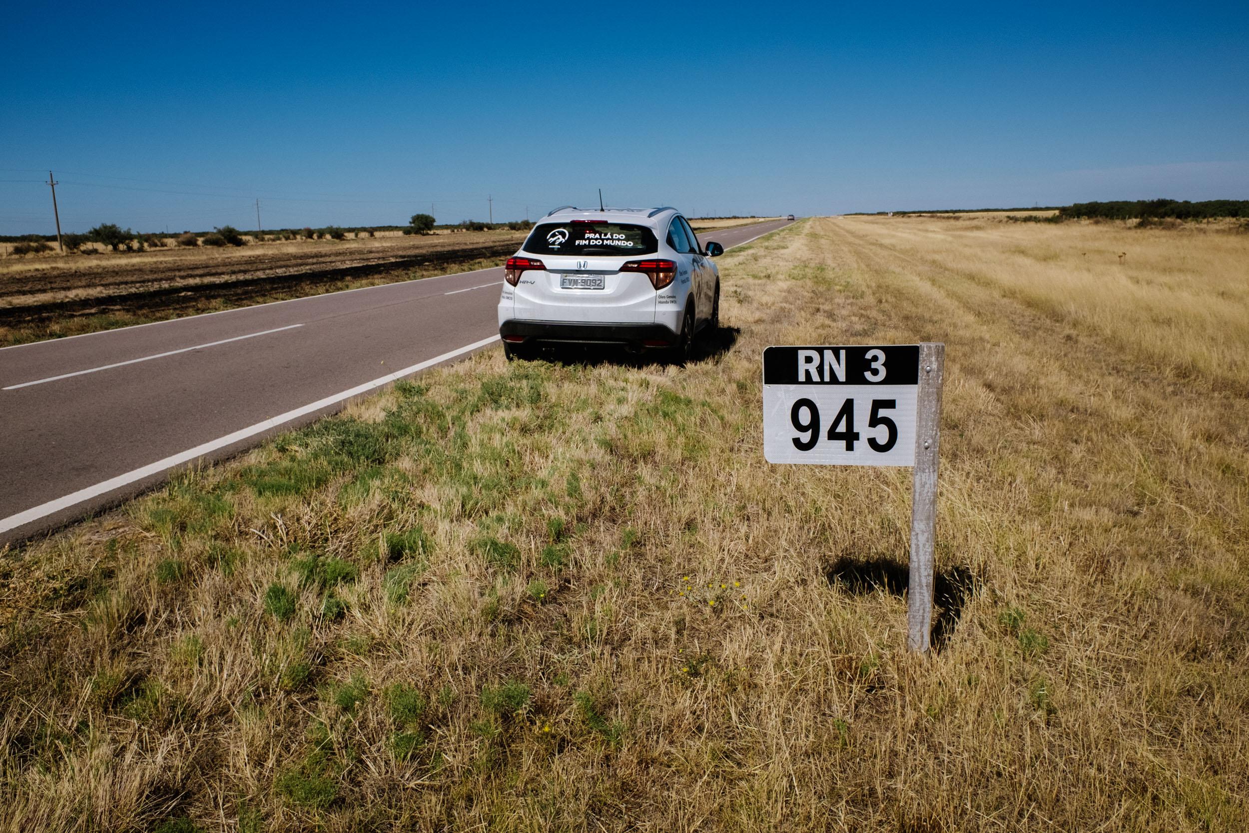 DIÁRIO DE BORDO – Dia 6 – 1.039 km de uma monotonia emocionante