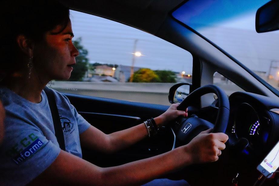 Película reduz o calor, mas esconde o motorista