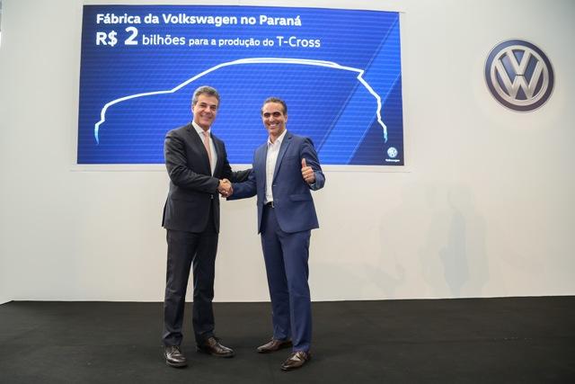 Volks investe R$ 2 bi no seu primeiro SUV