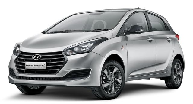 Hyundai HB20 ganha edição Copa