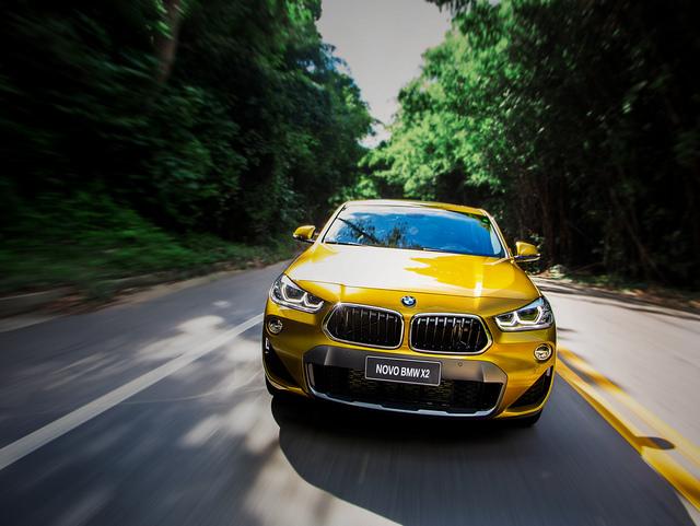 O 2 completa a grande família X da BMW