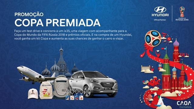 CAOA usa Copa da Rússia para promoção