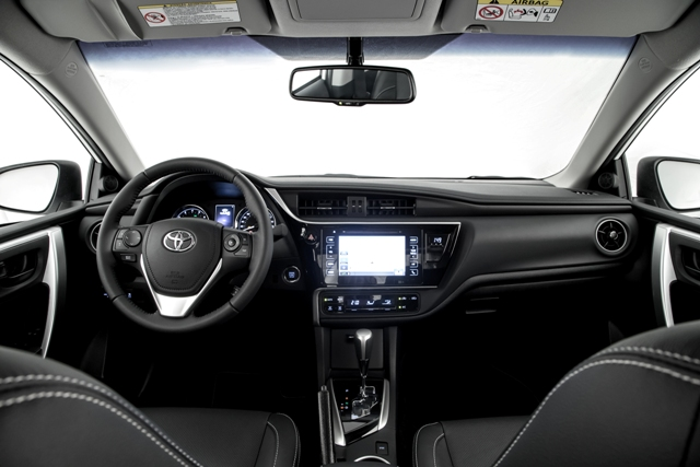corolla 2019 interior ft